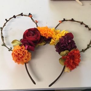 Handmade Fall Mickey Ears